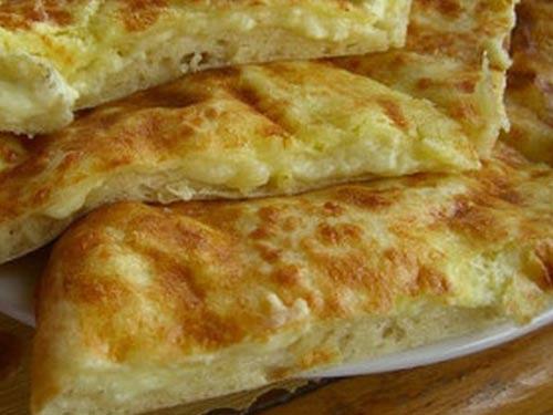 Рецепт хачапури из дрожжевого теста с сыром