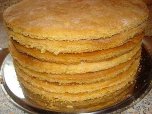 рецепты тортов из медовых и бисквитных коржей