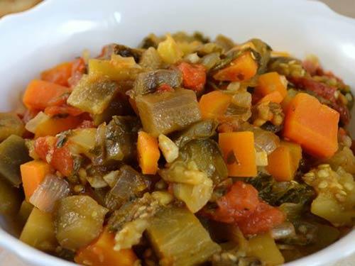 рагу овощное с баклажаном