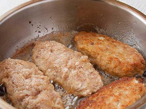 Рецепт куриной котлеты