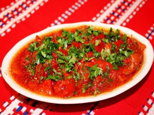 рецепт салата из сладкого перца фасоли