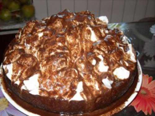 торт шапка гуцула рецепт