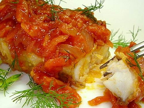 Рыба запеченная в с картошкой в духовке рецепт пошагово 56