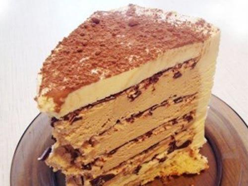 ореховый торт без выпечки рецепт с фото